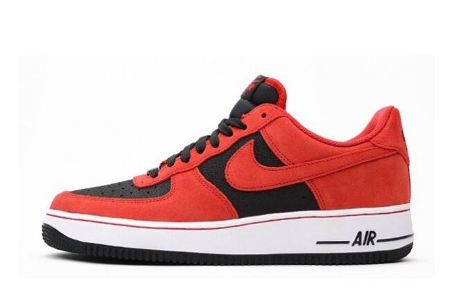 Air Force 1 Low Black/Red