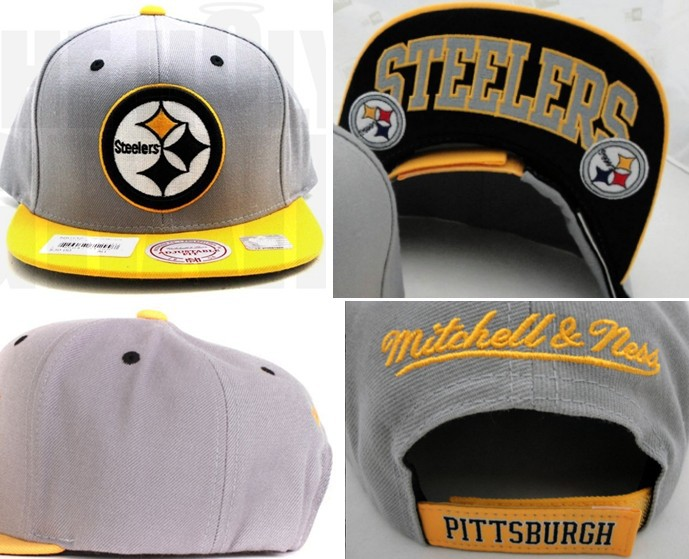 Casquette Pittsburgh Steelers [Gris]